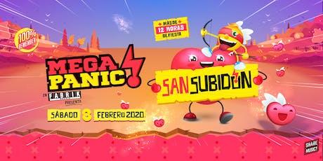 MegaPanic San Subidon! 2020 entradas