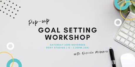 Pop-Up Goal Setting Workshop tickets