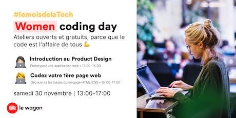Women Coding Day billets