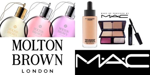 Afternoon Tea and Bubbles - with Molton Brown and MAC Make-up