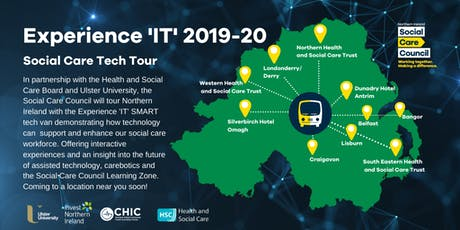 Experience IT - Social Care Tech Tour [ Manor House Hotel, Enniskillen] tickets