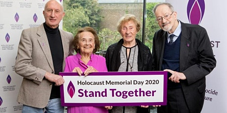 Holocaust Memorial Day.  27th January 2020.  10.00-11.30 am tickets