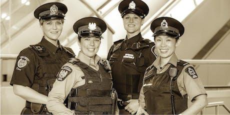 Transit Special Constables Women's Symposium 2019 billets