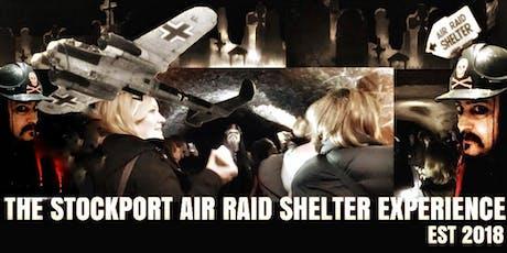 Flecky Bennett's Stockport Air Raid Shelter Experience tickets