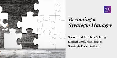 Becoming a Strategic Manager