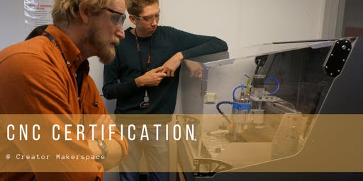CNC Certification [1month membership included*]