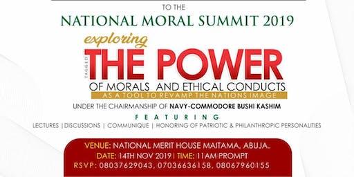 National Moral Summit 2019