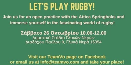 LET'S PLAY RUGBY