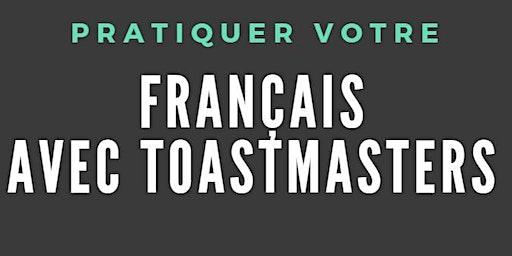 Pratiquer votre français avec Toastmasters