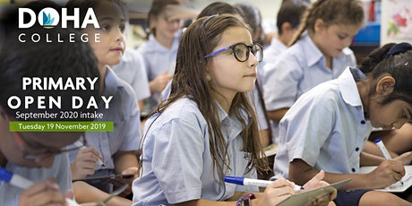 Doha College  - Primary School Open Day tickets
