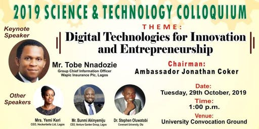 Bells University of Technology 2019 Science & Technology Colloquium