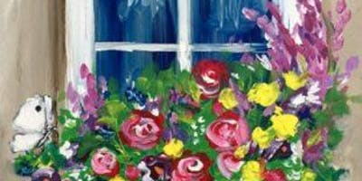 Paint Night at Bondi … Flower Box