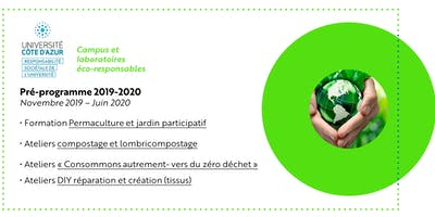Programme Mission UCA éco-responsable 2019-2020