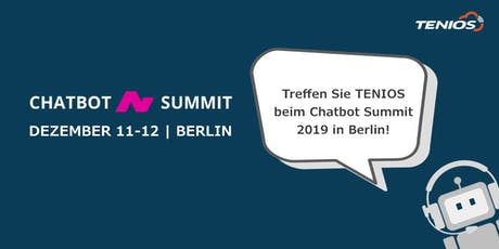 TENIOS @Chatbot Summit Tickets
