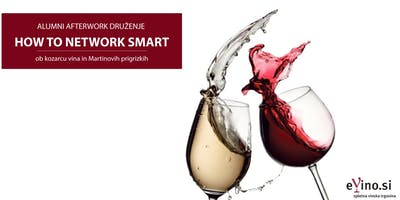 Alumni afterwork druženje: HOW TO NETWORK SMART