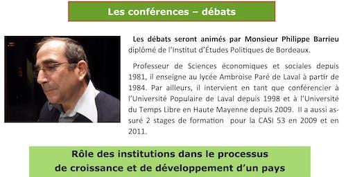 2 conférences-débats-  à Mayenne  SOLIDARITE INTERNATIONALE
