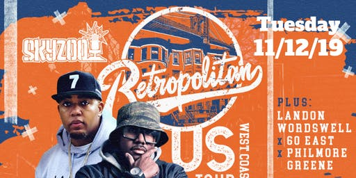 Skyzoo Retropolitan Tour with Special Guest Elzhi formally of Slum Village & more!