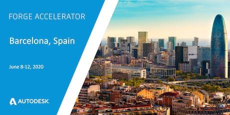 Autodesk Forge Accelerator - Barcelona, Spain (June 8-12, 2020) tickets
