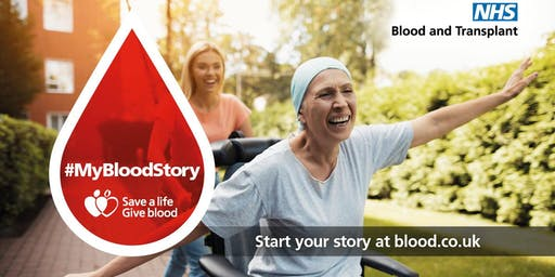 Give Blood NHS Blood Donation session - Driffield