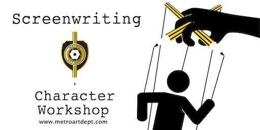 Screenwriting - Character Workshop with Alan Woodruff