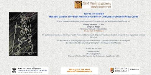 Mahatma Gandhi's 150th Birth Anniversary