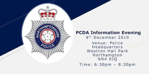 Police Constable Degree Apprenticeship (PCDA) Information Evening