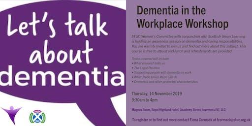 Dementia in the Workplace Workshop
