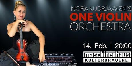 Nora Kudrjawizki's - One Violin Orchestra tickets