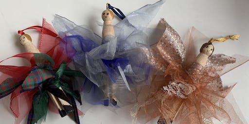 Make Your Own Raggy Peg Fairies