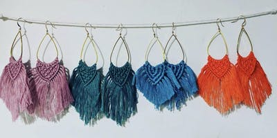 Macrame Earrings Workshop