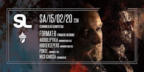 SCHIMMERLOS GEBURTSTAG w. FORMAT:B [formatik|berlin] biglietti