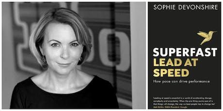 Sophie Devonshire Speaking Superfast tickets
