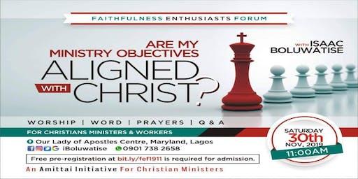 Faithfulness Enthusiasts Forum