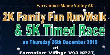 St. Stephen's Day 5K Road Race & 2K Family Fun Run/Walk