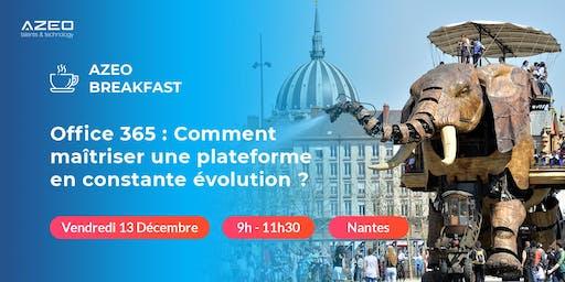 AZEO Breakfast Nantes : Matinée Office 365