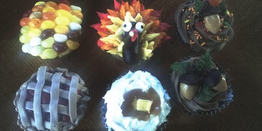 Adult/Child Thanksgiving Cupcake Class