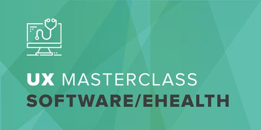 UX Masterclass - user experience design voor eHealth