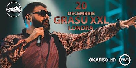 Grasu XXL Live in Londra tickets