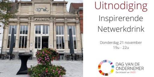 Dag van de Ondernemer: Inspirerende netwerkdrink
