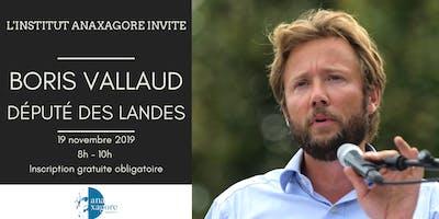 ☕Petit-Déjeuner avec Boris Vallaud, Député des Landes