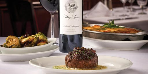 Stag's Leap Wine Dinner Atlantic City