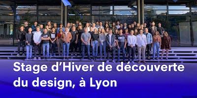 STAGE D'HIVER LYON, À LA DÉCOUVERTE DU DESIGN À STRATE, ÉCOLE DE DESIGN