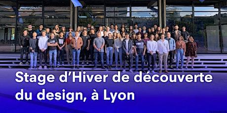 STAGE D'HIVER 2020 A LYON, DÉCOUVERTE DU DESIGN À STRATE, ÉCOLE DE DESIGN billets