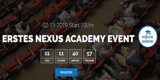 Erstes NEXUS Academy Event