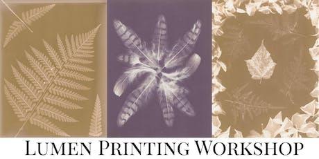 Lumen Print Workshop tickets