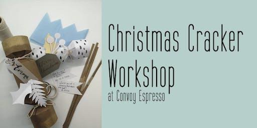 Christmas Cracker Making Workshop