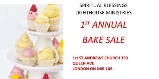 Sunday Funday Bake Sale