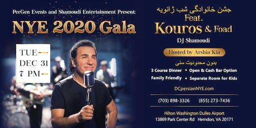 DC Persian NYE 2020 Gala - Feat. Kouros, Foad, DJ Shamoudi & Arshia Kia