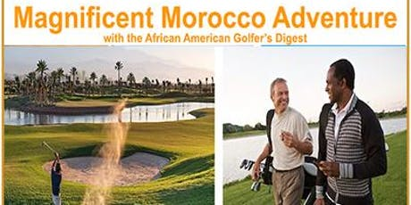 Golf Morocco 2020 Excursion tickets