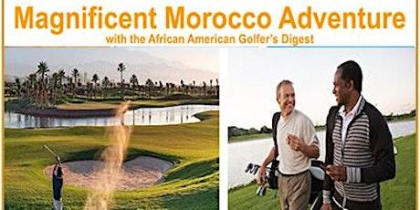 Golf Morocco 2020 Excursion billets